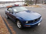2007 Vista Blue Metallic Ford Mustang V6 Premium Convertible #43339609