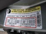 2004 Ford Focus SE Sedan Info Tag