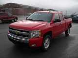 2011 Victory Red Chevrolet Silverado 1500 LT Extended Cab #43339632