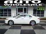 2010 Premium White Pearl Acura TSX V6 Sedan #43339288