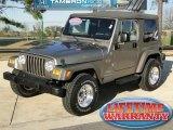 2006 Light Khaki Metallic Jeep Wrangler X 4x4 #43339661