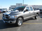 2008 Mineral Gray Metallic Dodge Ram 1500 SXT Quad Cab #43339323