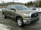 2010 Toyota Tundra SR5 Double Cab 4x4 Front 3/4 View