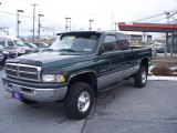 Forest Green Pearl Dodge Ram 2500 in 2001