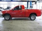 2004 Flame Red Dodge Ram 1500 ST Regular Cab #43339041