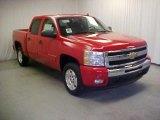 2011 Victory Red Chevrolet Silverado 1500 LT Crew Cab #43339396