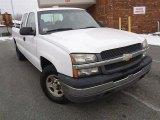 2004 Summit White Chevrolet Silverado 1500 LS Extended Cab 4x4 #43339895