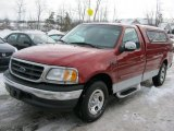 2001 Ford F150 XLT Regular Cab Data, Info and Specs