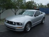 2006 Satin Silver Metallic Ford Mustang GT Premium Coupe #43338782