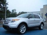 2011 Ingot Silver Metallic Ford Explorer XLT #43338826