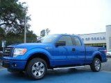 2011 Blue Flame Metallic Ford F150 STX SuperCab #43338827