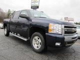 2011 Imperial Blue Metallic Chevrolet Silverado 1500 LT Crew Cab #43339153