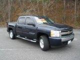 2008 Dark Blue Metallic Chevrolet Silverado 1500 LT Crew Cab 4x4 #43339980