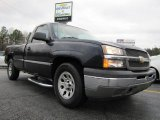 2005 Black Chevrolet Silverado 1500 LS Regular Cab #43339156