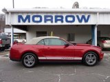 2011 Red Candy Metallic Ford Mustang V6 Premium Convertible #43440251