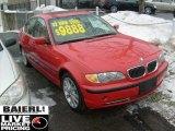 2002 Electric Red BMW 3 Series 330xi Sedan #43439918