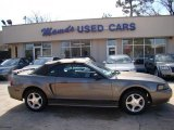 2001 Mineral Grey Metallic Ford Mustang V6 Convertible #43440687