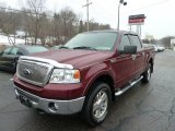 2006 Dark Toreador Red Metallic Ford F150 XLT SuperCrew 4x4 #43440337