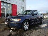 2005 Orient Blue Metallic BMW 3 Series 325xi Sedan #43440703