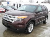 2011 Bordeaux Reserve Red Metallic Ford Explorer XLT 4WD #43441167