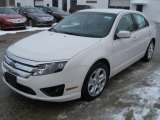 2011 White Suede Ford Fusion SE #43441168