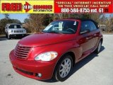 2007 Inferno Red Crystal Pearl Chrysler PT Cruiser Touring Convertible #43441172