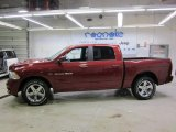 2011 Deep Cherry Red Crystal Pearl Dodge Ram 1500 Sport Crew Cab 4x4 #43440371