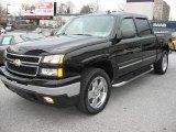2006 Black Chevrolet Silverado 1500 LT Crew Cab 4x4 #4329112