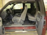 2001 GMC Sierra 1500 SLE Extended Cab 4x4 Graphite Interior