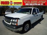 2005 Summit White Chevrolet Silverado 1500 LS Extended Cab #43441183