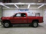 2001 Flame Red Dodge Ram 1500 ST Club Cab 4x4 #43440376
