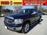 2007 Patriot Blue Pearl Dodge Ram 1500 ST Quad Cab 4x4 #43441184