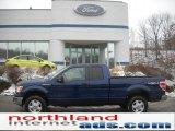 2011 Dark Blue Pearl Metallic Ford F150 XLT SuperCab 4x4 #43440012