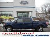 2011 Dark Blue Pearl Metallic Ford F150 XLT SuperCrew 4x4 #43440013
