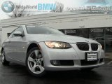 2008 Titanium Silver Metallic BMW 3 Series 328xi Coupe #43440044