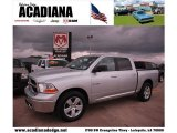 2010 Bright Silver Metallic Dodge Ram 1500 SLT Crew Cab #43440407