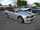 2005 Satin Silver Metallic Ford Mustang V6 Deluxe Convertible #43441323