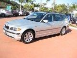 2005 Titanium Silver Metallic BMW 3 Series 325xi Wagon #43440064