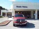 2008 Sunburst Orange Pearl Dodge Ram 1500 Big Horn Edition Quad Cab 4x4 #43440074