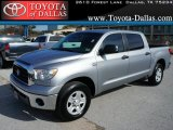 2008 Silver Sky Metallic Toyota Tundra Double Cab #43440126