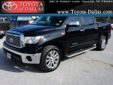 2010 Black Toyota Tundra Limited CrewMax #43440128