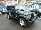 2003 Jeep Wrangler Shale Green Metallic