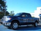 2011 Dark Blue Pearl Metallic Ford F150 XLT SuperCab #43440222