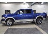 2011 Deep Water Blue Pearl Dodge Ram 1500 Laramie Crew Cab 4x4 #43440541