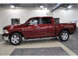 2011 Deep Cherry Red Crystal Pearl Dodge Ram 1500 Big Horn Crew Cab #43440542
