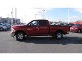 2010 Inferno Red Crystal Pearl Dodge Ram 1500 SLT Quad Cab 4x4 #43440930