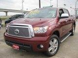 2010 Salsa Red Pearl Toyota Tundra Limited CrewMax 4x4 #43441623