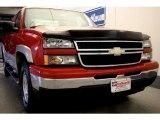 2006 Victory Red Chevrolet Silverado 1500 Z71 Extended Cab 4x4 #43440968