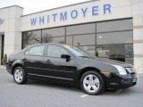 2008 Black Ebony Ford Fusion SE #43440980