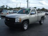 2009 Silver Birch Metallic Chevrolet Silverado 1500 Regular Cab #43555994